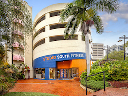Front entrance to Studio South Fitness